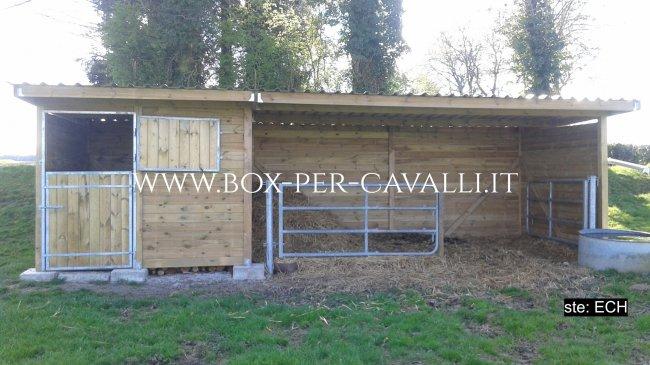 Box per lo specialista dei box in legno per for Box per cavalli fai da te